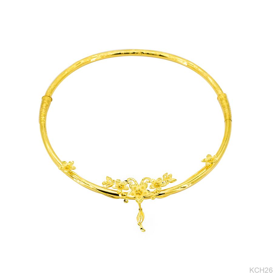 Kiền cổ cưới vàng 24k KCH26 APJ