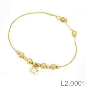 Lắc Chân Vàng 18K - L2.0001