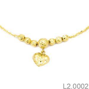 Lắc Chân Vàng 18K - L2.0002