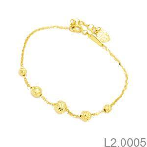 Lắc Tay Vàng 18K - L2.0005