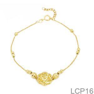 Lắc Chân Vàng 18K - LCP16