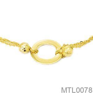 Lắc Tay Vàng 18K - MTL0078
