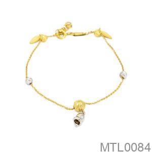 Lắc Tay Vàng 18K - MTL0084