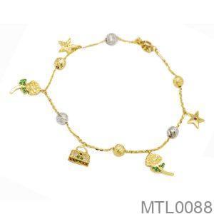 Lắc Chân Vàng 18K - MTL0088