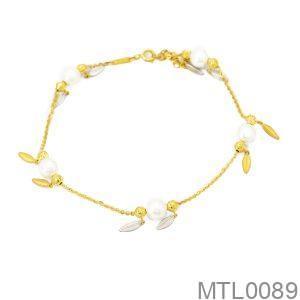 Lắc Chân Vàng 18K - MTL0089