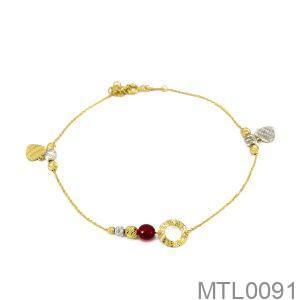 Lắc Chân Vàng 18K - MTL0091