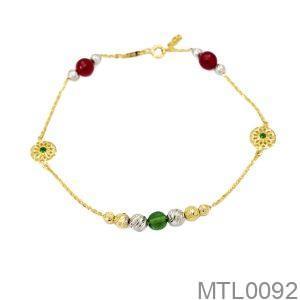Lắc Chân Vàng 18K - MTL0092