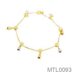 Lắc Chân Vàng 18K - MTL0093
