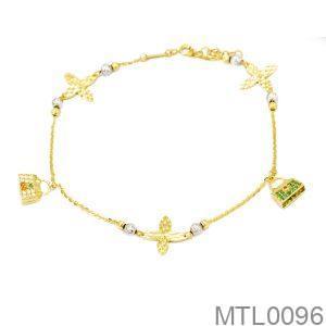 Lắc Chân Vàng 18K - MTL0096