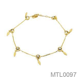 Lắc Chân Vàng 18K - MTL0097