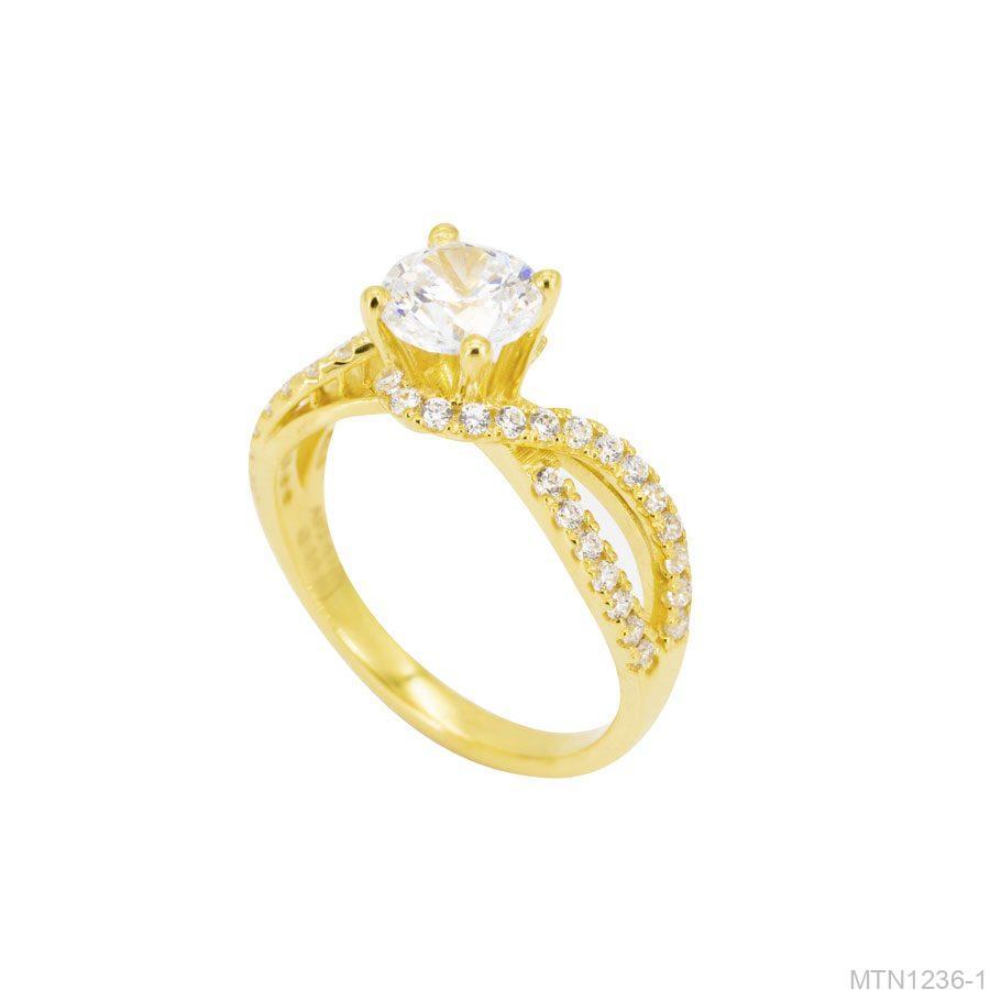 MTN1236-1-1 Nhẫn cầu hôn vàng 10k đẹp giá rẻ