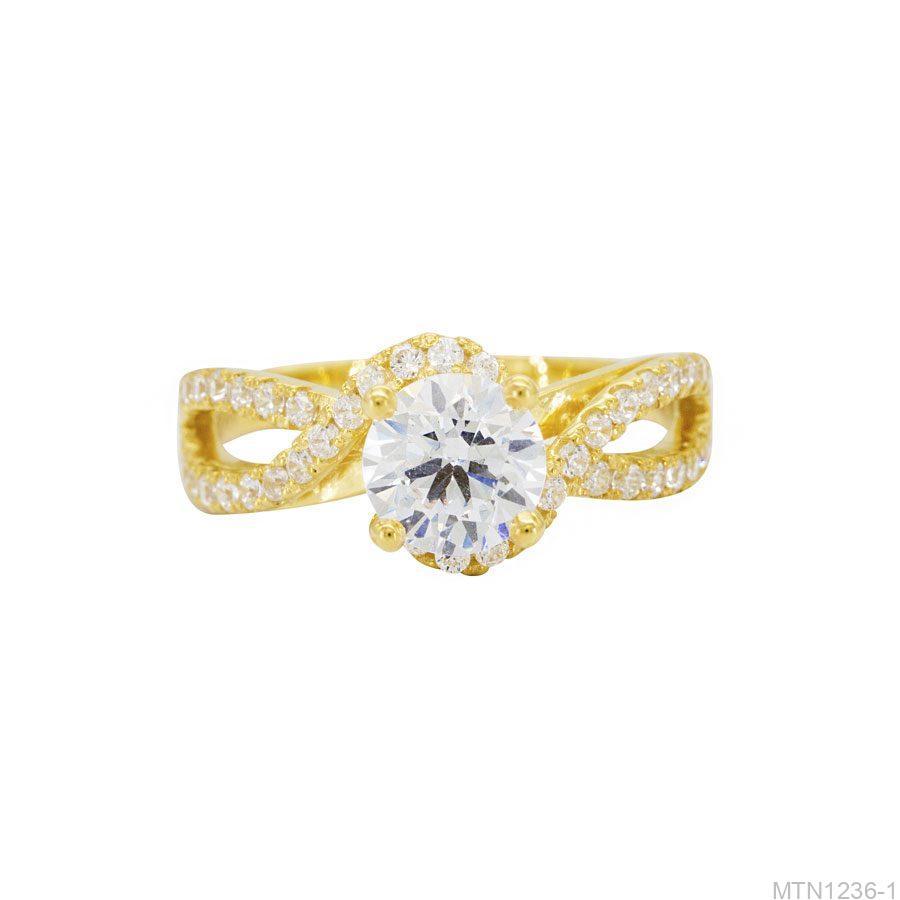 MTN1236-1-2 Nhẫn cầu hôn vàng 10k đẹp giá rẻ