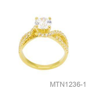 MTN1236-1 Nhẫn cầu hôn vàng 10k đẹp giá rẻ
