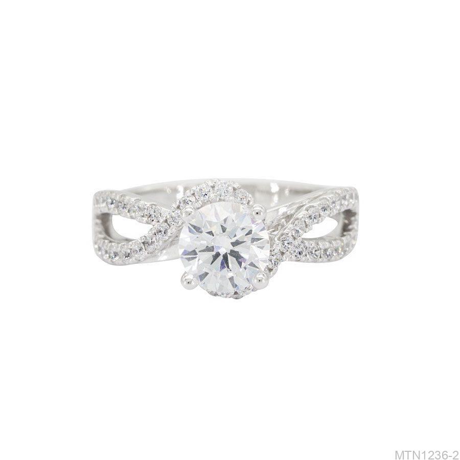 MTN1236-2-2 Nhẫn cầu hôn vàng trắng 10k đẹp giá rẻ