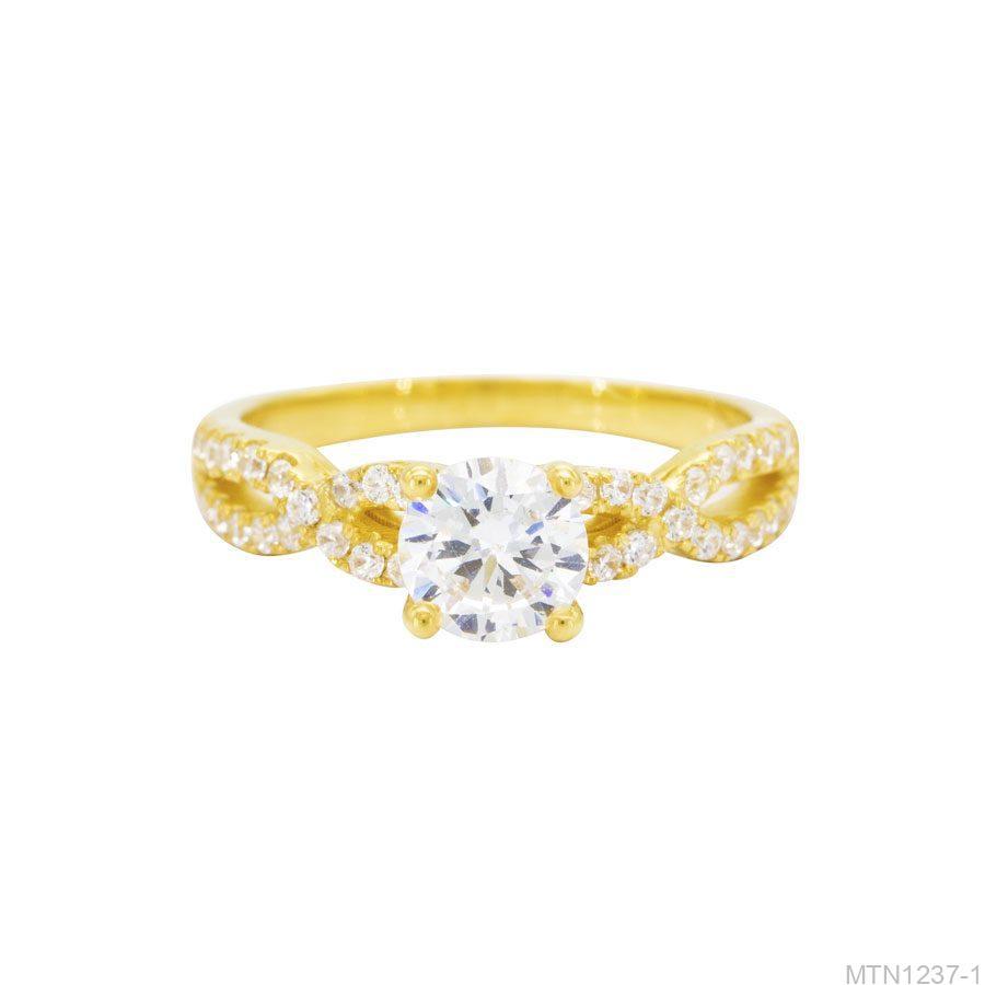 Nhẫn đính hôn vàng 10k APJ MTN1237-1-2