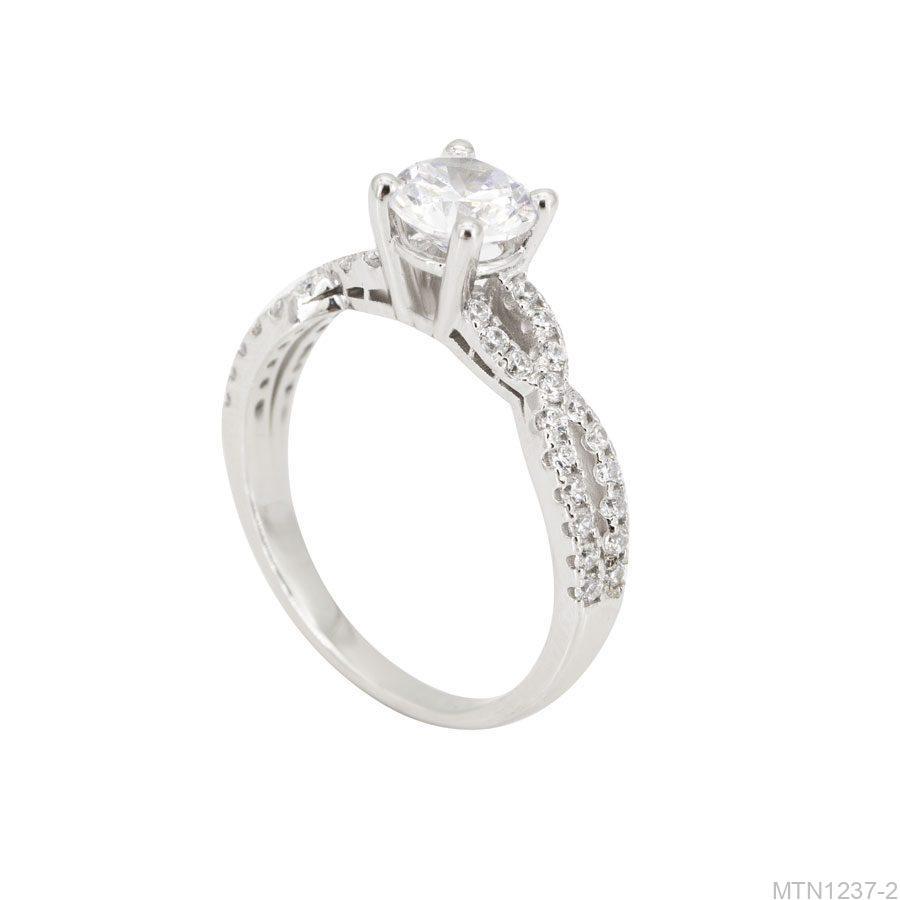 MTN1237-2-1 Nhẫn cầu hôn vàng trắng 10k rẻ đẹp