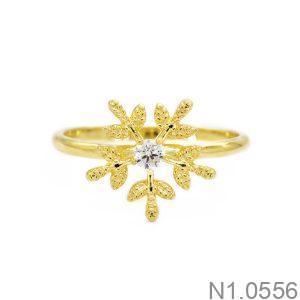 Nhẫn Nữ Vàng 18K Đính Đá CZ - N1.0556
