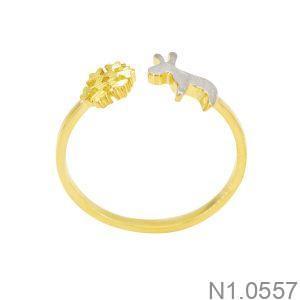 Nhẫn Nữ Vàng 18K - N1.0557