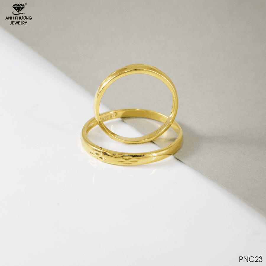 Nhẫn cưới trơn PNC23