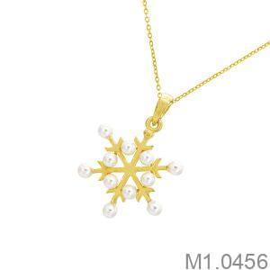 Mặt Dây Nữ Vàng 18K - M1.0456