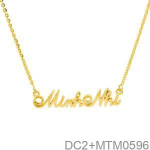 Dây Cổ Vàng 18 - DC2+MTM0596
