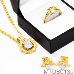 Bộ Trang Sức Vàng 10K - MTDB0130