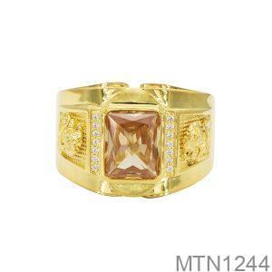 Nhẫn Nam Vàng 18k 3 chỉ APJ MTN1244-2