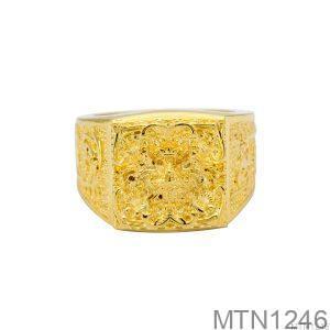 Nhẫn Nam Rồng Vàng Vàng 18K - MTN1246