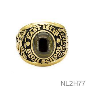 NL2H77-2 Nhẫn mỹ nam vàng 18k apj
