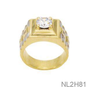 Nhẫn Nam Vàng 18k Đá CZ NL2H81