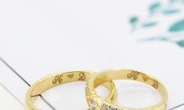 Nhẫn cưới thiết kế theo yêu cầu H D
