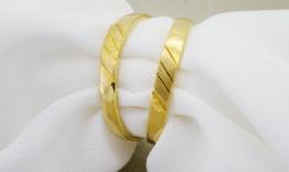 Nhẫn cưới trơn vàng 18k PNC24