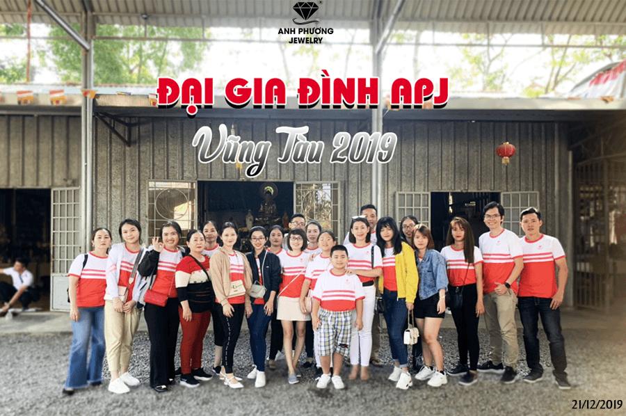 Kỷ niệm đại gia đình APJ du lịch thiện nguyện Vũng Tàu 2019