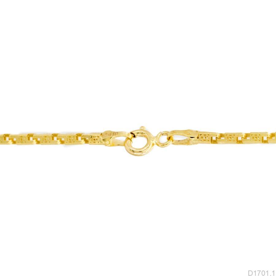 D1701.1-2 Dây chuyền nữ vàng vàng 10k