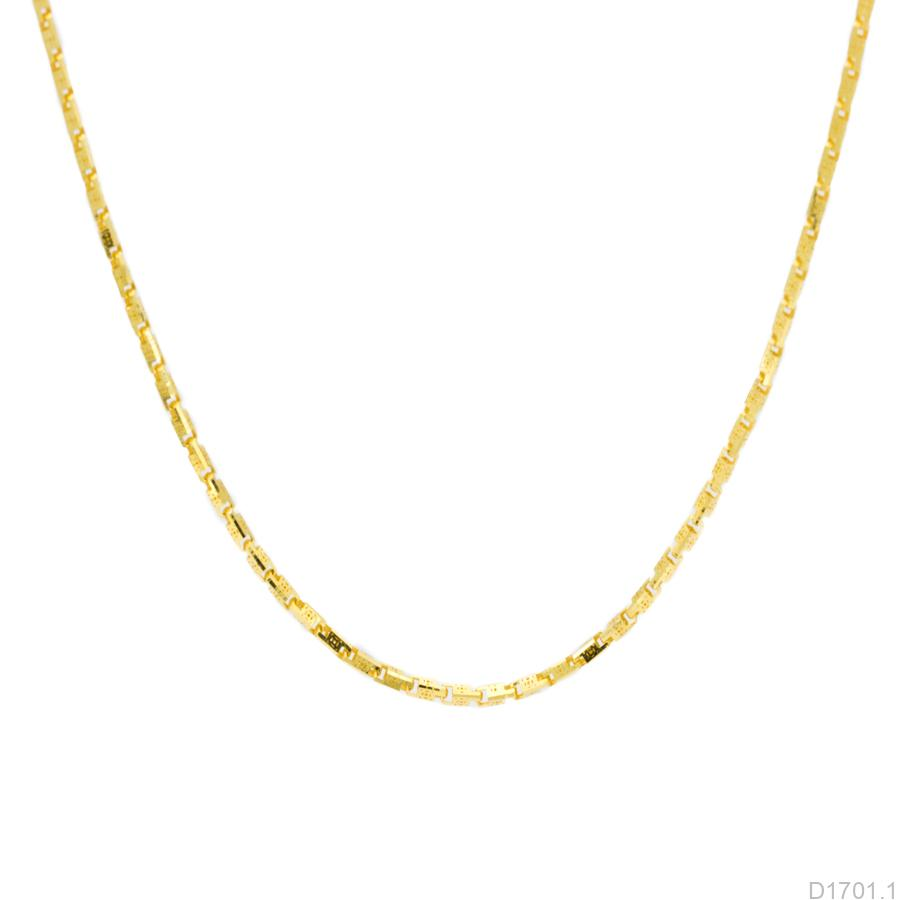 D1701.1 Dây chuyền nữ vàng vàng 10k