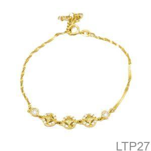 Lắc Tay Vàng 18K – LTP27