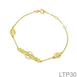 Lắc Tay Vàng 18K – LTP30