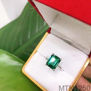 Nhẫn Nữ Vàng Trắng 10K - MTN1250
