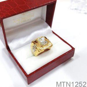 MTN1252 Nhẫn vàng nam 10k kiểu dáng đại bàng
