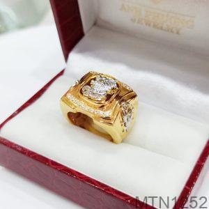 Nhẫn Nam Rồng Vàng Vàng 10K - MTN1252