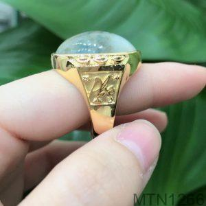 Nhẫn Nam Chữ Phúc Vàng Vàng 18k – MTN1266
