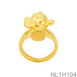 Nhẫn Thần Tài Vàng 24K - NL1H104