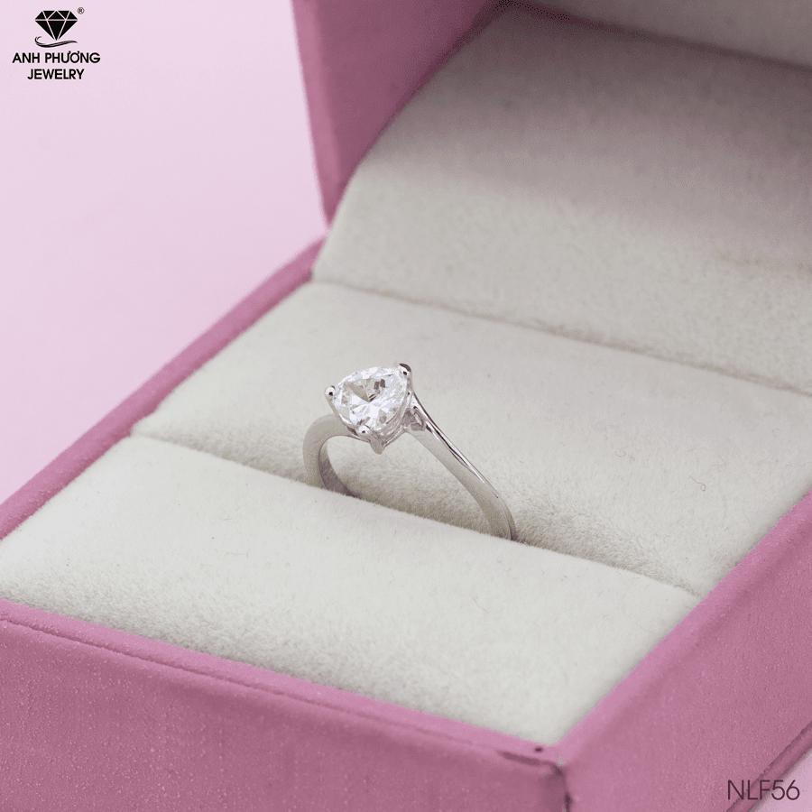 4 kiểu nhẫn đính hôn vừa đơn giản mà vẫn sang trọng do Anh Phương Jewelry chế tác