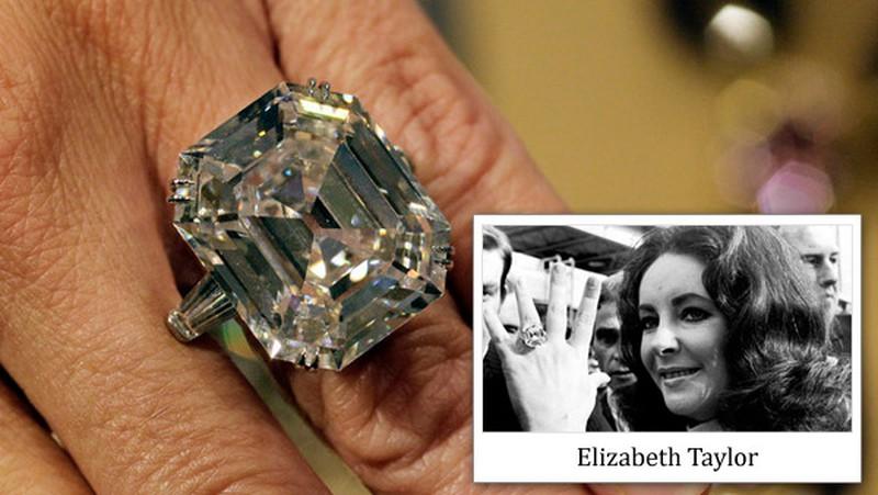 Nhẫn đính hôn Elizabeth Taylor