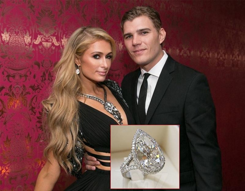 Nhẫn đính hôn Paris Hilton