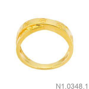 Nhẫn Nữ Vàng 18k - N1.0348.1