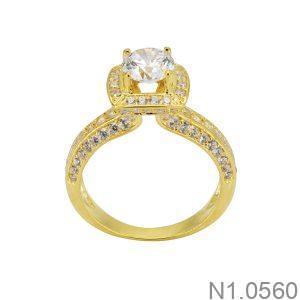 Nhẫn Nữ Vàng 18k Đính Đá Cz – N1.0560