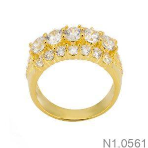 Nhẫn Nữ Vàng 18k Đính Đá Cz – N1.0561
