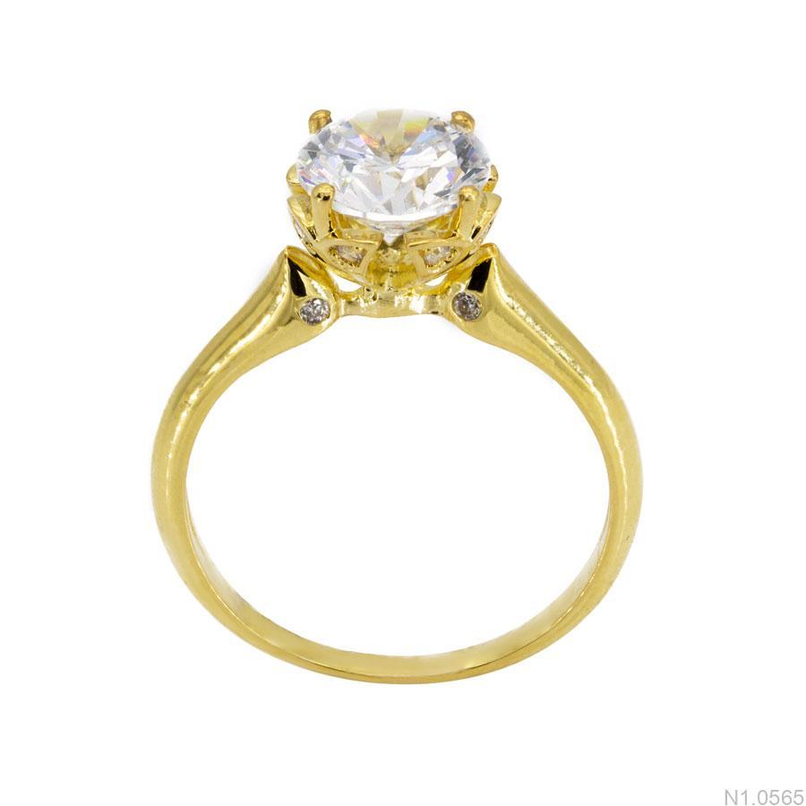 Nhẫn Nữ Vàng 18k Đính Đá Cz – N1.0565
