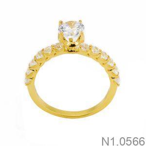 Nhẫn Nữ Vàng 18k Đính Đá Cz – N1.0566